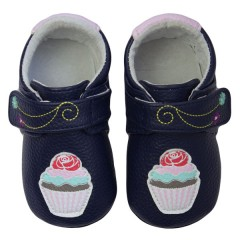 Zapatos MiniZ Sweet Tea Navy de Rose et Chocolat