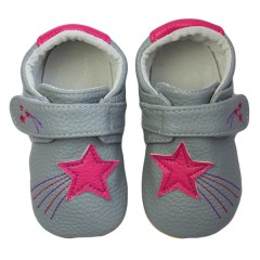 Zapatos MiniZ Shooting Stars Grey de Rose et Chocolat