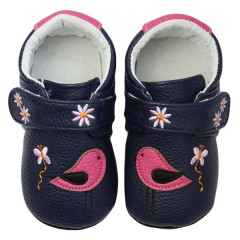 Zapatos MiniZ Sweet Birdy Navy de Rose et Chocolat