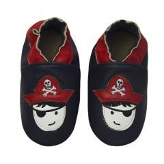 Zapato para bebé ClassicZ Captain Hook Navy de Rose et Chocolat