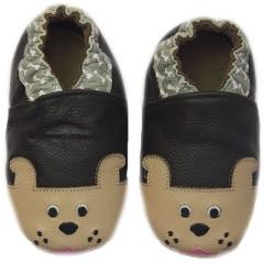 Zapato para bebé ClassicZ Doggy Bone Brown de Rose et Chocolat
