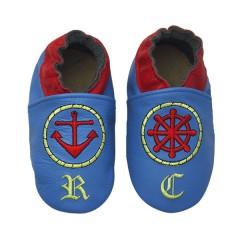 Zapato para bebé ClassicZ Sailor Blue de Rose et Chocolat