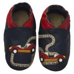 Zapato para bebé ClassicZ Little Racers Navy de Rose et Chocolat
