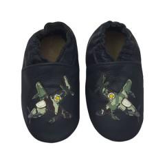 Zapato para bebé ClassicZ Jet Fighter Blue de Rose et Chocolat