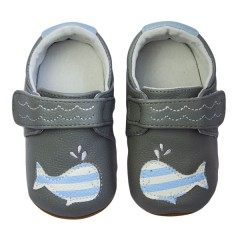 Zapatos Miniz Happy Whale Grey de Rose Et Chocolat