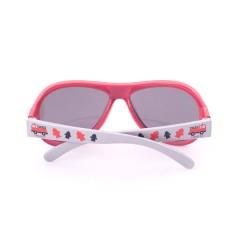 Gafas de sol de diseño Fiery Firetruck Red Baby de Shadez