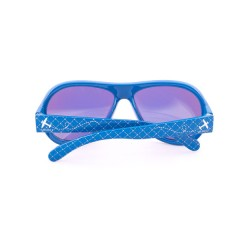 Gafas de Sol de Diseño Awesome Airplane Blue Junior de Shadez