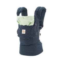 Mochila Porta Bebé Original Azul y Menta de Ergobaby