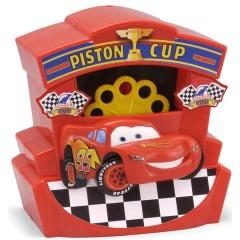 Lanzador Pompas Motorizado Disney Cars de Gazillion