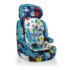 Silla de Auto Grupo 1,2,3 Zoomi Cuddle Monster 2 de Cosatto