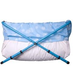 Bañera Bibabaño Extensible de 70 a 90 Cm Blue Bubble