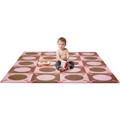 PLAYSPOT Superficie para el suelo PINK BROWN