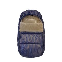 Saco Polar Azul de Bebemon