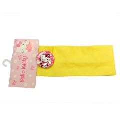 Cinta de pelo amarilla Hello Kitty de TodoPapás Outlet