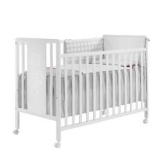 Cuna Panel Blanco de Inter Baby