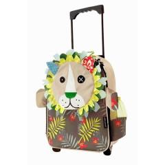 Maleta trolley jélécros el león de Déglingos