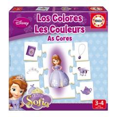 Aprendo Los Colores La Princesa Sofía de Educa Borrás