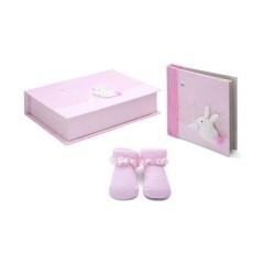 Set Bunny Rosa de Bebé de París