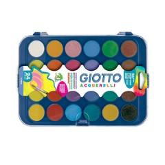 Caja de 24 Pastillas de Acuareales Surtidas de Giotto