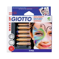 Estuche 6 Uds. Lápices Cosméticos de Giotto Make Up