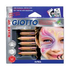 Estuche 6 Uds. Lápices Cosméticos Colos Glamour de Giotto Make Up