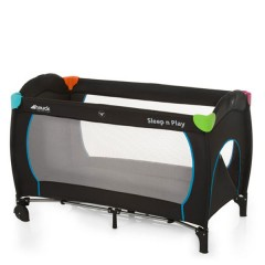 Cuna de Viaje Sleep´n Play Go Plus Multicolor Black de Hauck