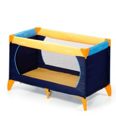 Cuna de viaje Dream´n Play Yellow/Blue/Navy de Hauck