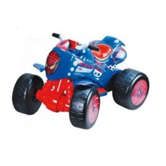 Cuatrimoto (quad) Flames 6v The Amazing Spiderman de Injusa