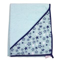Capa de Baño Estrellas Turquesa de Todopapás Outlet