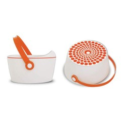 Orinal 3 En 1 Dot Pot Naranja