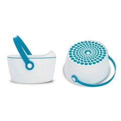 Orinal 3 En 1 Dot Pot Azul