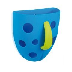 Cesta Recoge Juguetes Baño Azul de Olmitos