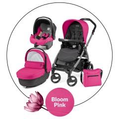 Trio Modular Book Plus Sportivo Bloom Pink de Peg-pérego