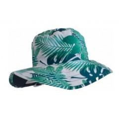 Sombrero reversible Azul menta de BabyBanz