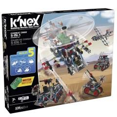 K'Nex Classics 5 en 1 Set Combo Combate de fábrica de juguetes