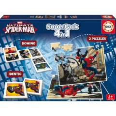 Superpack 4 In 1 Ultimate Spiderman