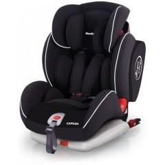 Silla de Auto con Isofix Canada Grupo 1 2 3 Negra Blanco de Mondial Safe