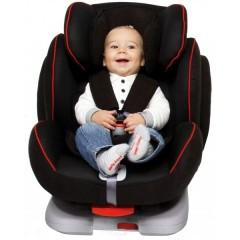 Silla de Auto con Isofix Canada Grupo 1 2 3 Negra Rojo de Mondial Safe