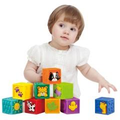 Cubos blandos con ilustraciones de Little Hero