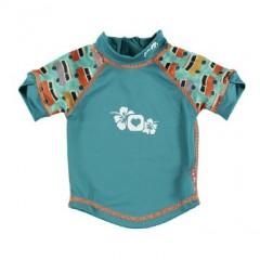 Camiseta UV 50+ Campervan Green de Pop in