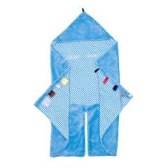 Arrullo Ultrasuave Azul Cuadros de Snooze Baby