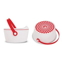 Orinal 3 En 1 Dot Pot Rojo