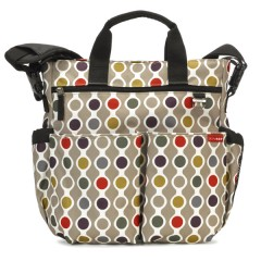 Bolso de Pañales Duo Signature Wave Dot de Skiphop