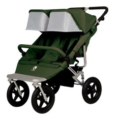 COCHECITO GEMELAR DUOWALKER PLUS Olive Green