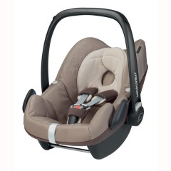 Silla de Coche Grupo 0+ Pebble Walnut Brown de Bébé Confort