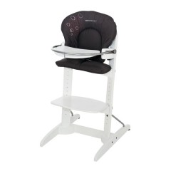 Trona woodline poetic black de bébé confort