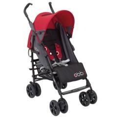 Silla de Paseo Obbo Red + Autosilla Go de Bebé Due
