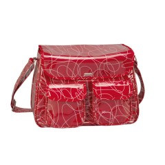 Bolsa maternal ciao looping red de bebé due