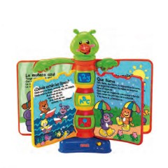 Libro interactivo Aprendizaje de FISHER PRICE