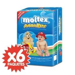 66 Pañales de agua Aquakids T3 de Moltex